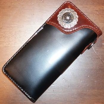 フラットヘッド メンズ用長財布
