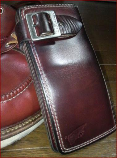 REDWING 長財布のエイジング