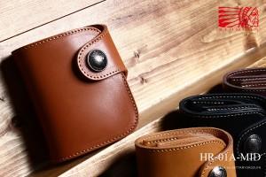 レッドムーンミッドシリーズ メンズ二つ折り財布