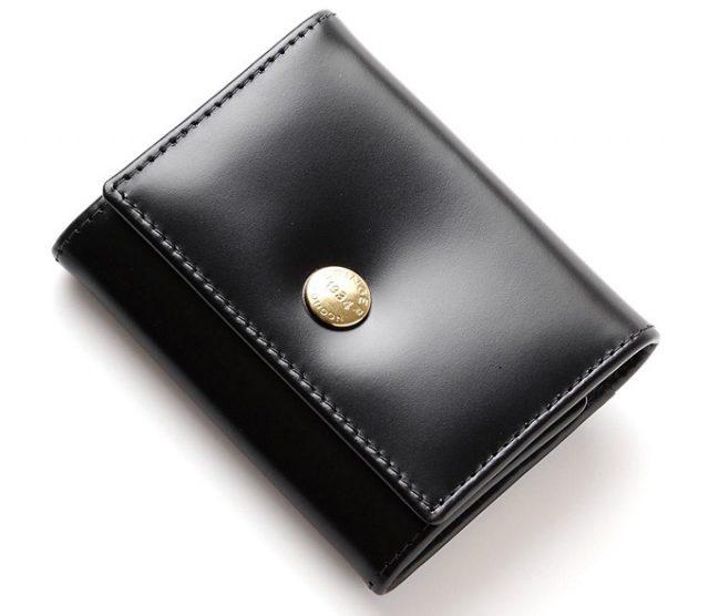 エッティンガーのビジネス・フォーマルシーン向けメンズコインケース