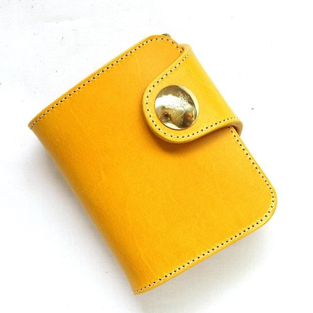 革蛸の黄色い財布黄金