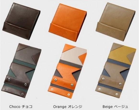 薄い財布 オロビアンココラボ