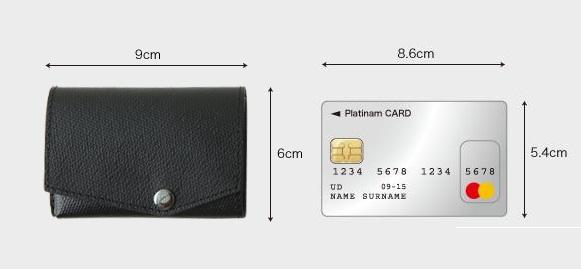小さい財布 小ささ