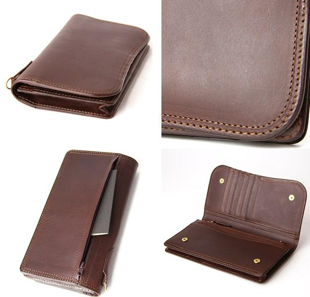 コルボのスレート メンズ長財布