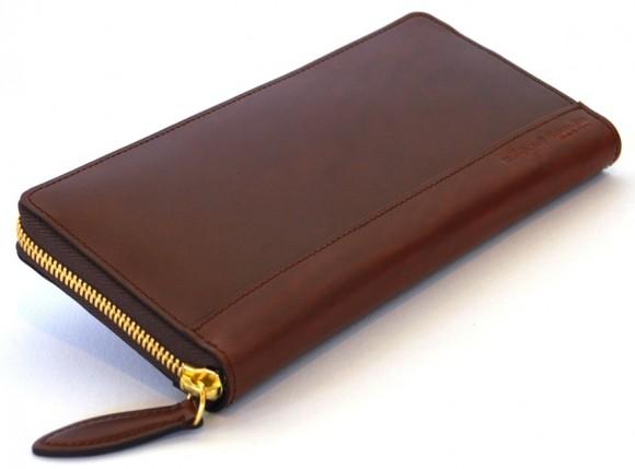 ウォームスクラフツ 馬革の長財布
