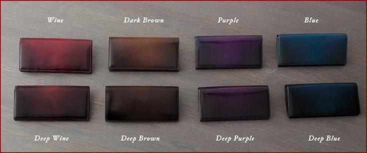 YUHAKU 長財布の色