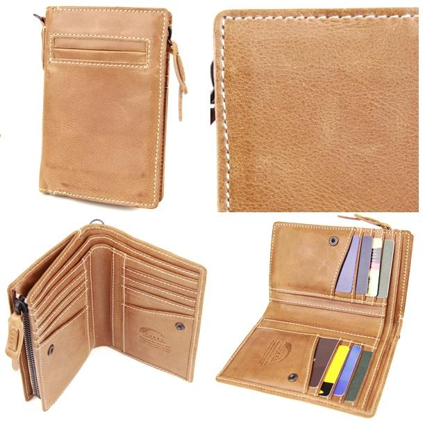 コルボのキュリオス メンズ二つ折り財布
