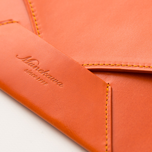 Munekawaの長財布縫製
