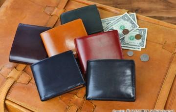 オリーチェ メンズ用二つ折り財布