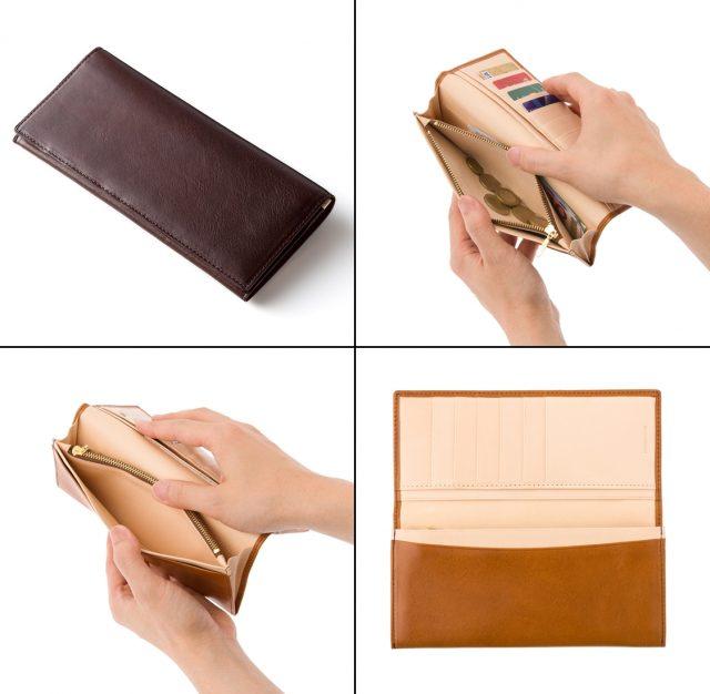 ココマイスターのマットーネ、マルチウォレット長財布