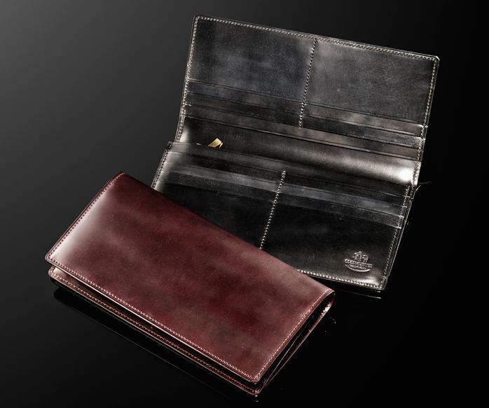 ココマイスター シェルコードバン長財布