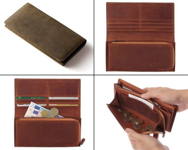 ココマイスターのナポレオンカーフ、アレッジドウォレット長財布