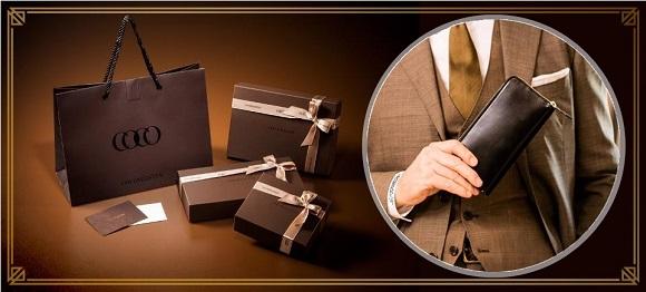コスパの良いココマイスターで人気のコードバンスカイスクレーパー長財布