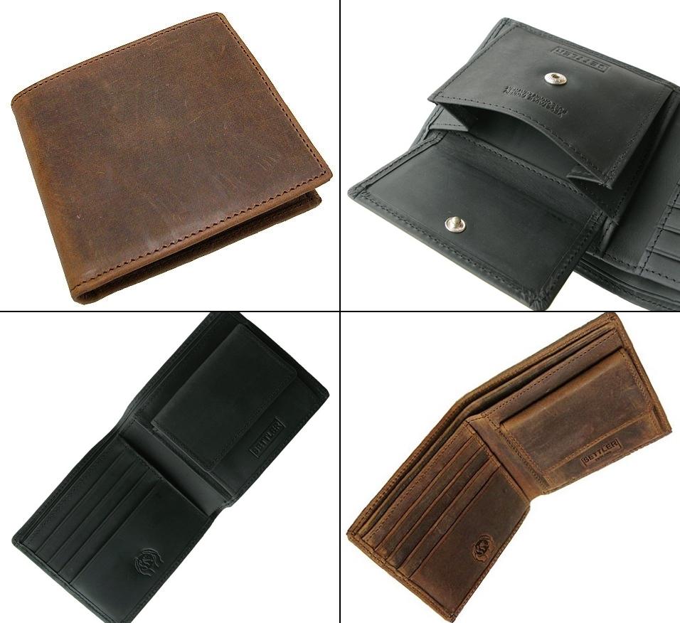 セトラー メンズ二つ折り財布