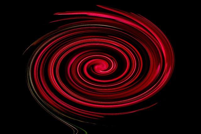 黒から赤へ