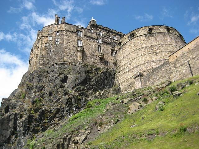 スコットランド風景画