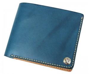 MOTOの手縫いメンズ二つ折り財布