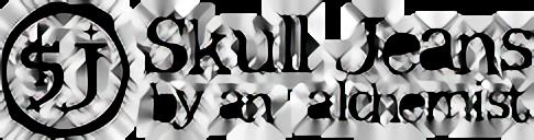 スカルジーンズのロゴ