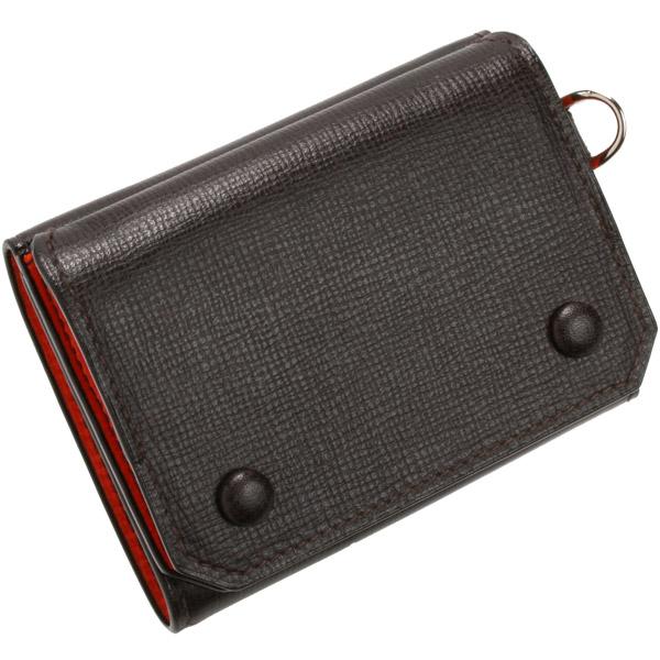 ラルコバレーノ メンズ三つ折り財布