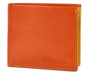 ダコタブラックレーベルのメンズカジュアル二つ折り財布