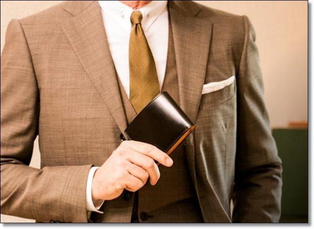 スーツに似合う財布っていったらこの3点しかないよね!