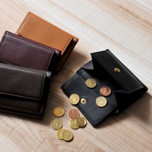 ベッカー極小財布のベーシック小銭入れミニ財布