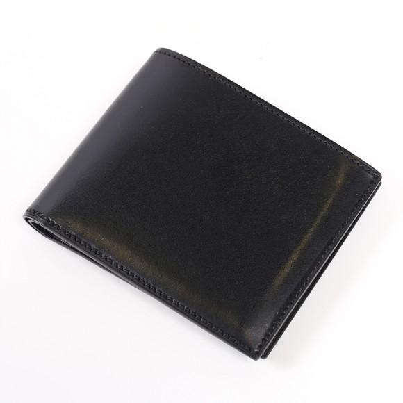 万双 双鞣和地のメンズ二つ折り財布