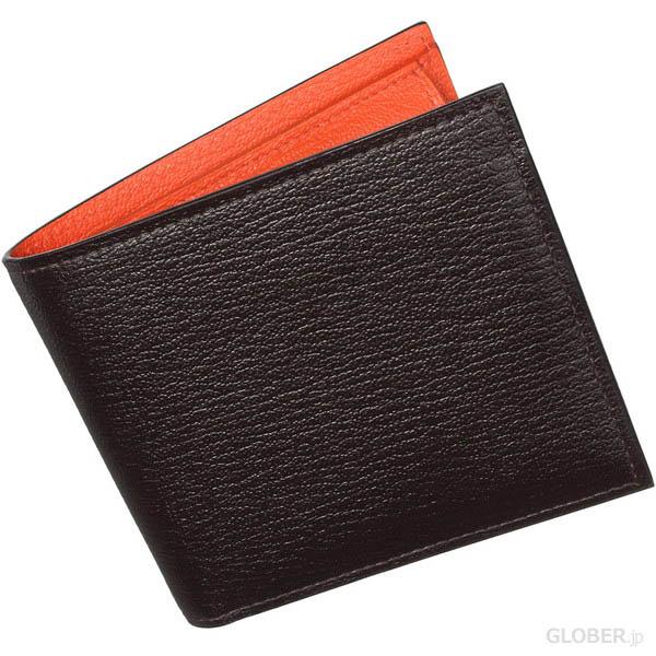 ラルコバレーノの山羊革で出来たメンズ二つ折り財布