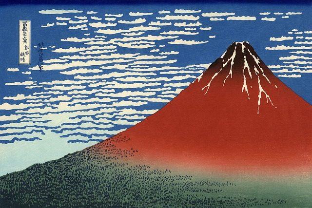 日本の心っていったら富士山じゃー!