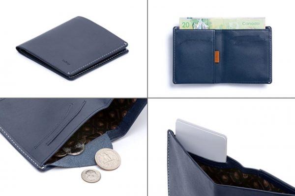 ベルロイの小さい財布 note sleeve Wallet