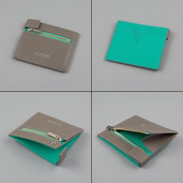 YUHAKUプロデュースブランドALBERTEの小さな財布