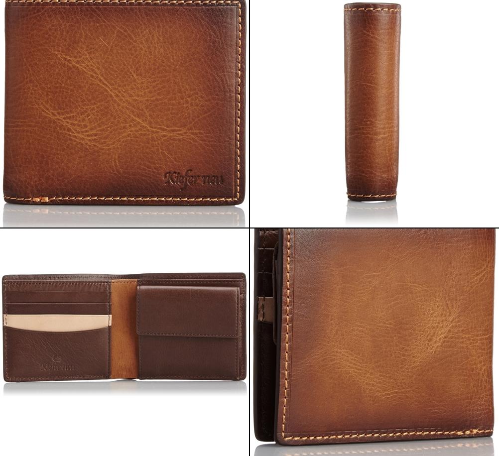 キーファノイのジョイア メンズ二つ折り財布