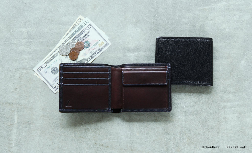 土屋鞄 メンズ二つ折り財布