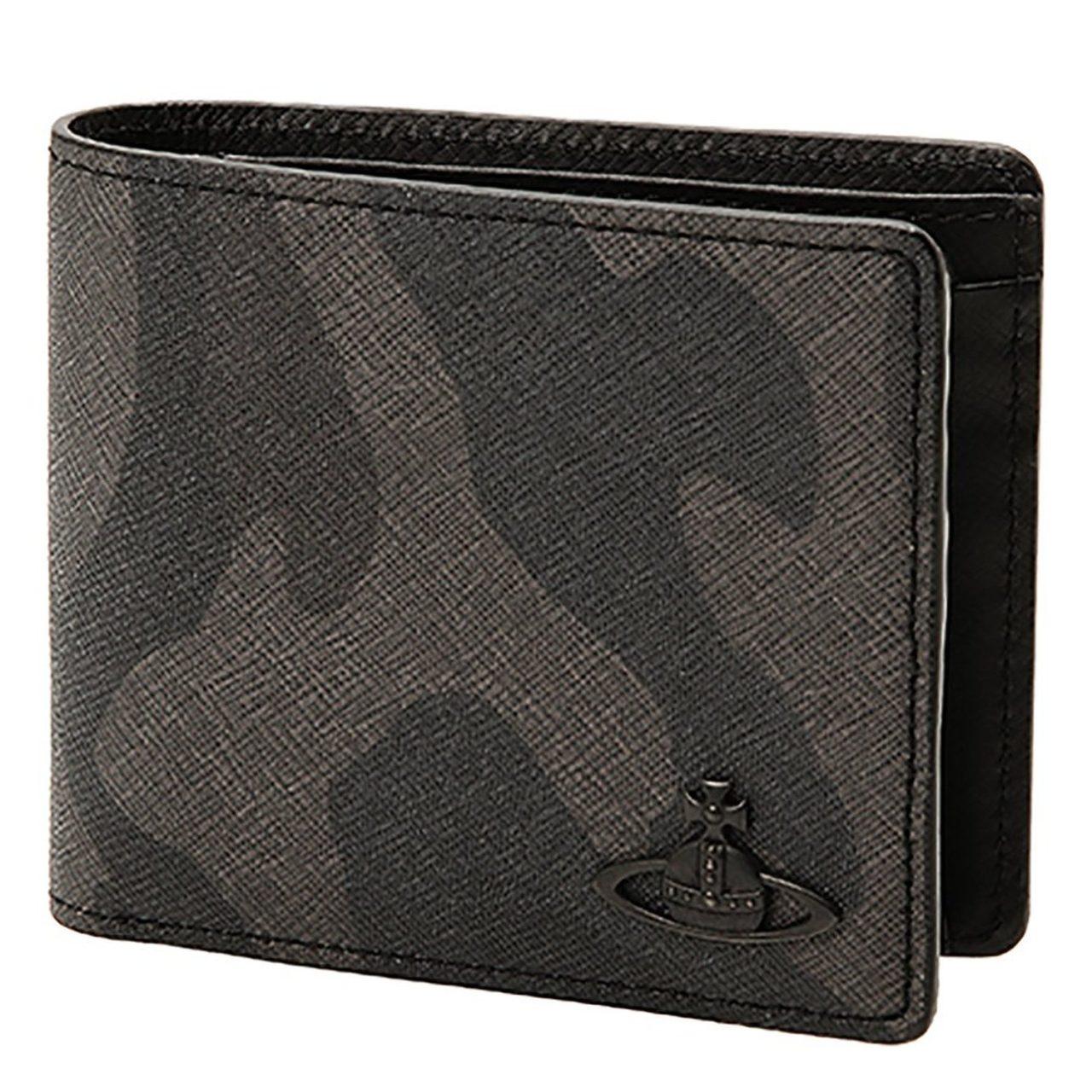 ヴィヴィアン カモフラ柄メンズ二つ折り財布