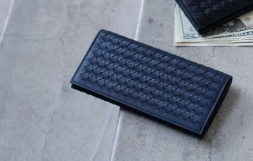 土屋鞄 ニッティングロングウォレット長財布