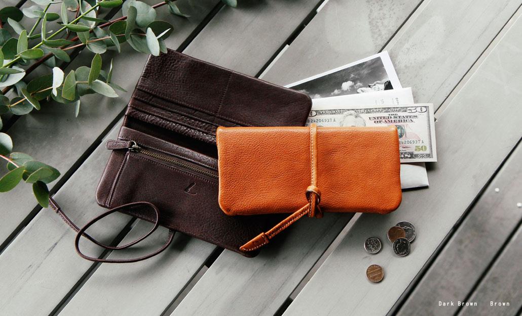 土屋鞄のループウォレット長財布
