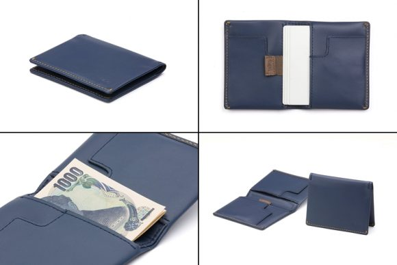 ベルロイ 薄い財布