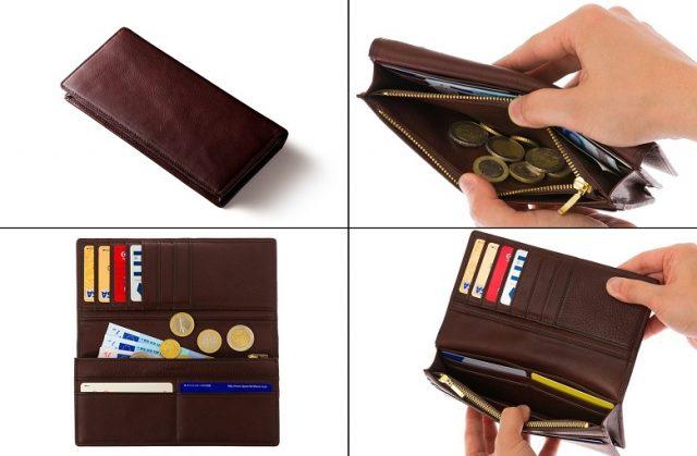 ココマイスターのマルティーニ、アーバンウォレットの長財布