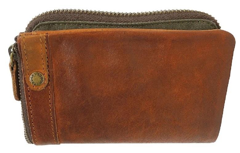 TOUGHの本革メンズ二つ折り財布