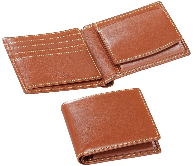 ソメスサドル メンズ用二つ折り財布