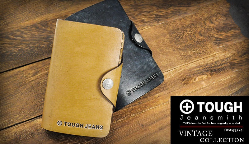 TOUGHのビンテージ メンズ二つ折り財布
