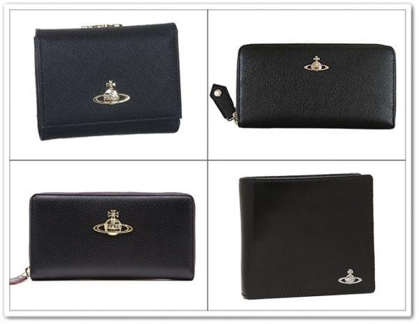 ヴィヴィアンウエストウッドのシンプルなロゴの財布