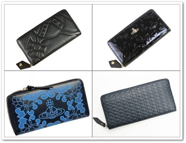 ヴィヴィアンウエストウッドの変わったオーブロゴの財布