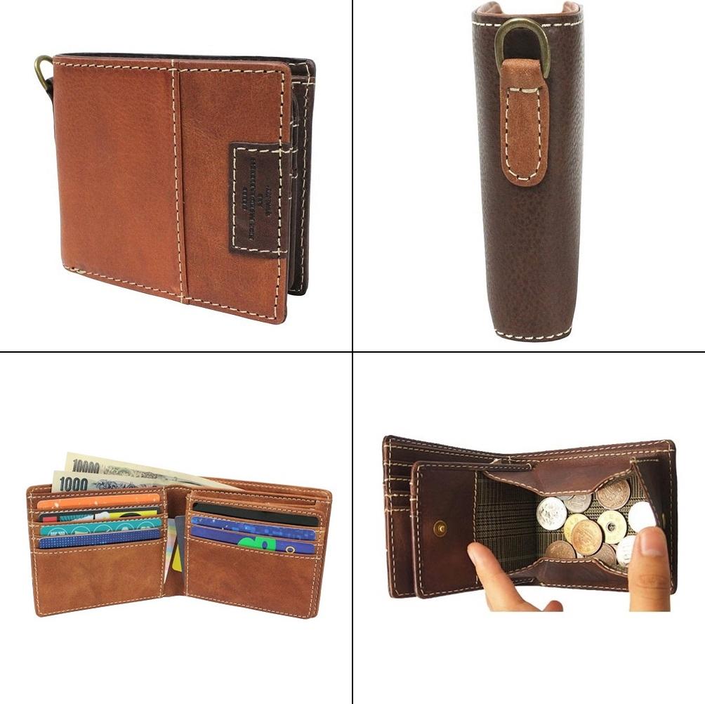 クリードSYNE メンズ二つ折り財布