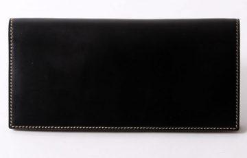 フラソリティのコードバン長財布