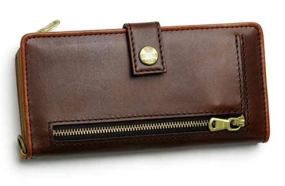 クリードのメンズ長財布