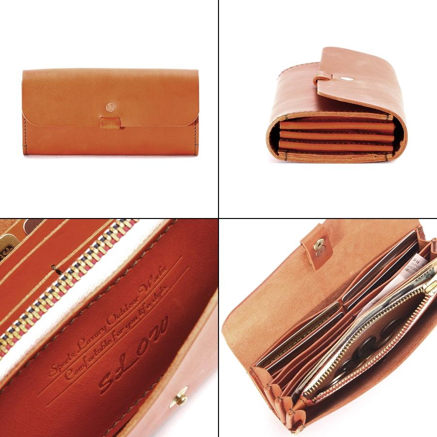 スロウのトスカーナ メンズ長財布