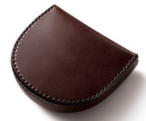 コードバン馬蹄形コインケース