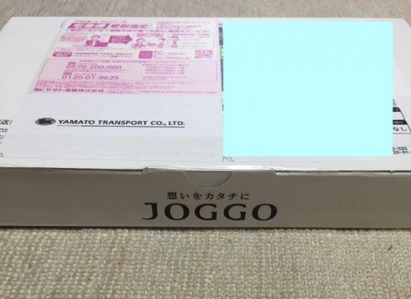 JOGGOのラウンドファスナーが届いたところ