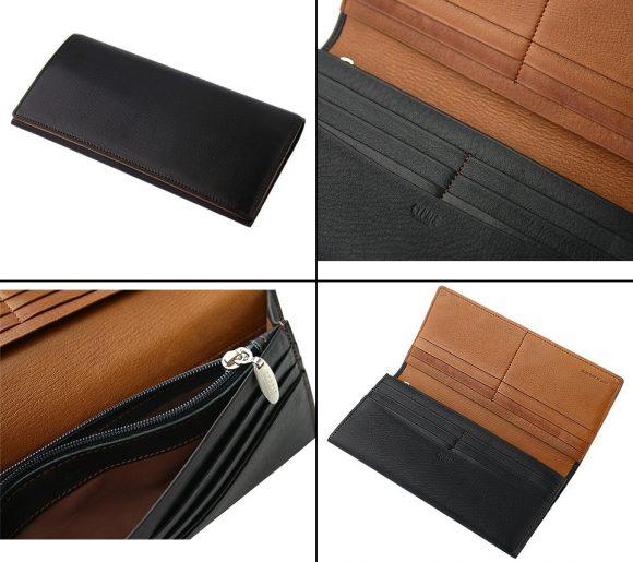 キプリスのシルキーキップ通しマチ長財布